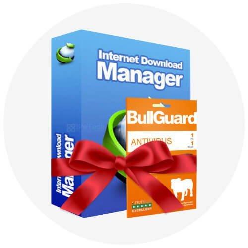 IDM LifeTime & BullGuard Antivirus Bundle Deal